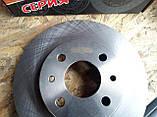 Диск тормозной Ваз 2110, 2111, 2112 R14 вентилируемый Триал-Спорт, фото 4