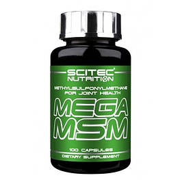 Mega MSM Scitec Nutrition 100 капсул