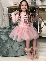 Джемпер для девочки кукла ЛОЛ