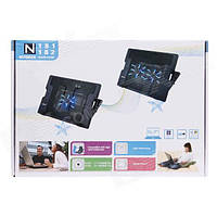 Охлаждающая подставка для ноутбука Notebook Cooler Pad N181, N182, фото 1