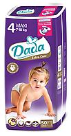 Подгузники DADA Premium  4 (7-18 кг) 50 шт.