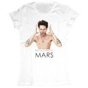 Женская футболка стильная с принтом Thirty seconds to Mars - «Home-Store» онлайн магазин в Киеве