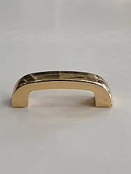 Ручкодержатель мостик 20 мм золото