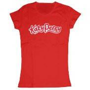 Женская футболка модная с принтом Katy Perry