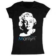 Женская футболка модная с принтом Marilyn Monroe