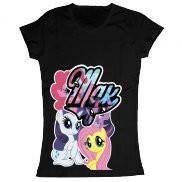 Женская футболка модная с принтом Мдк пони