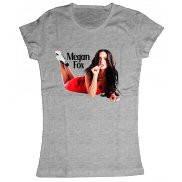Женская футболка модная с принтом Megan Denise Fox