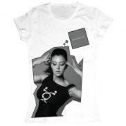 Женская футболка модная с принтом Monica Bellucci