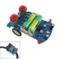 Робот BEAM Трек машинка ездящая по линии D2-5 Kit СОБЕРИ САМ DIY (z04828)
