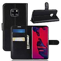 Чехол-книжка Litchie Wallet для Huawei Mate 20 Pro Черный