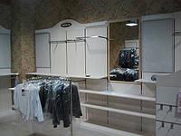 Мебель для магазинов одежды на заказ