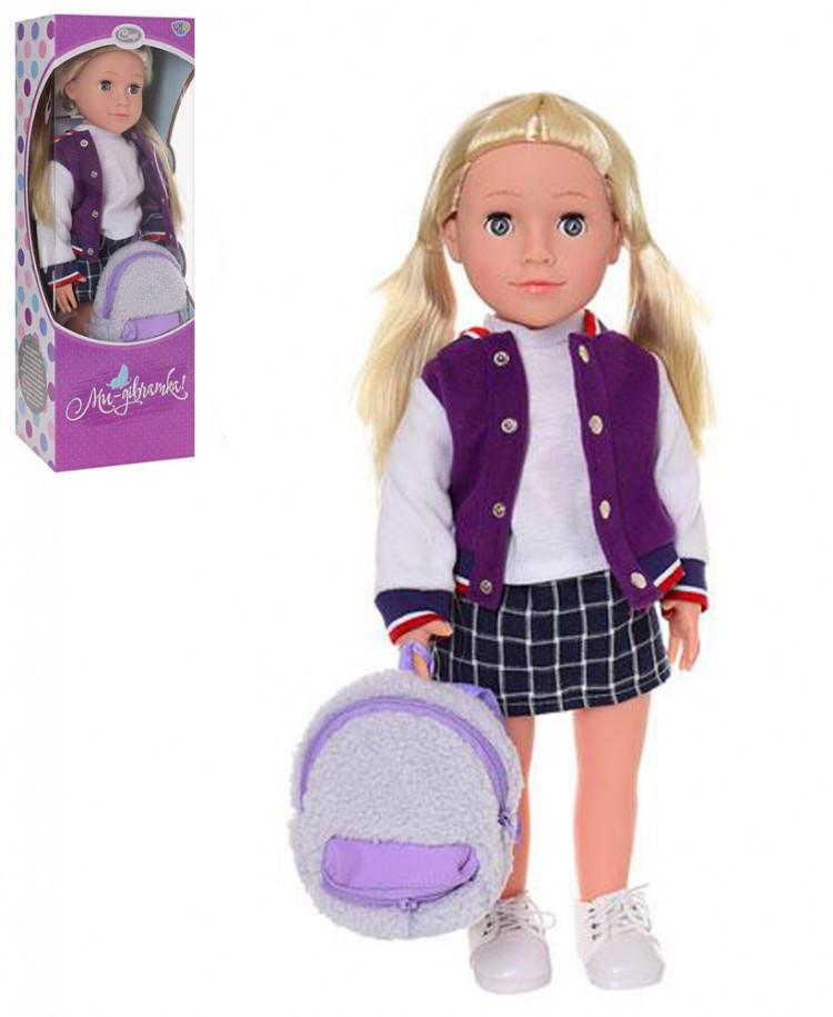 Кукла M 3925 (Софи) UA 48см, муз,звук(укр),песня,стих, бат(таб), в кор-ке,50-18-12,5см Кукла M 3925 (Софи) UA 48см, муз,звук(укр),песня,стих,