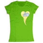 Женская футболка модная с принтом Пузырек