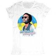Женская футболка модная с принтом Вакарчук Океан Ельзи