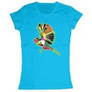 Женская футболка модная с принтом Bird
