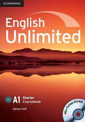 English Unlimited Starter Coursebook with e-Portfolio DVD-ROM