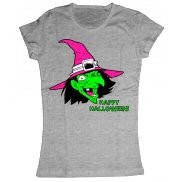 Женская футболка летняя с принтом Ведьмочка