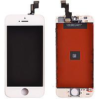 Дисплей + сенсор Apple iPhone 5S белый рамка наш