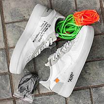 "Мужские кроссовки OFF-WHITE x Nike Air Force 1 Low ""The ten"", фото 2"
