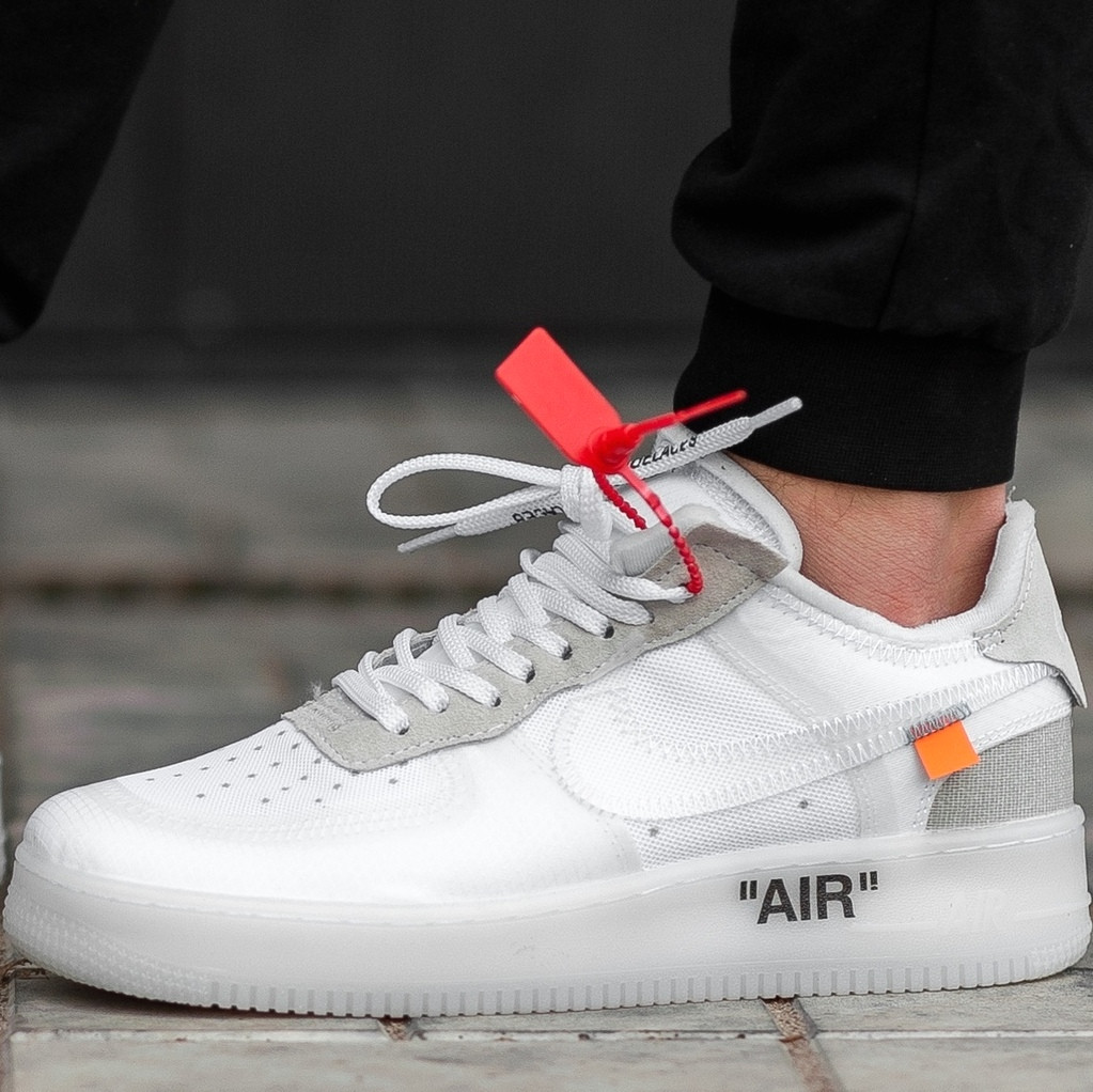 cd220728 Мужские кроссовки OFF-WHITE x Nike Air Force 1 Low