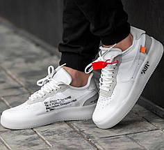 "Мужские кроссовки OFF-WHITE x Nike Air Force 1 Low ""The ten"", фото 3"