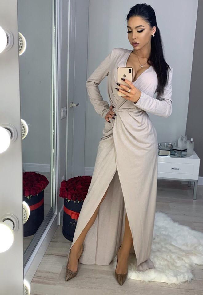 Купить платье из люрекса