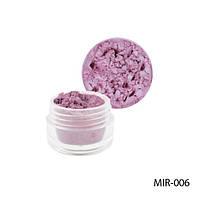 Lady Victory MIR-006 Светло-розовый пигмент для геля и акриловой пудры.