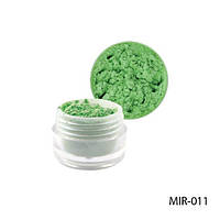 Lady Victory MIR-011 Светло-зеленый пигмент для геля и акриловой пудры.
