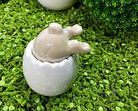 Статуэтка кролик в скорлупе 10*13 см фарфор Dragimex
