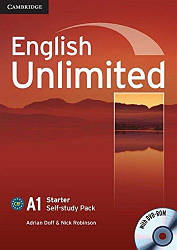 English Unlimited Starter Self-study Pack (Workbook with DVD-ROM)
