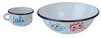 EPOS Набор детской эмалированной посуды - набор 163 Совы