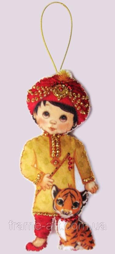 Заготовка из фетра F070 Кукла. Индия-М