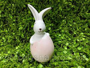 Кролик в скорлупе 4,5*10 см фарфор Dragimex