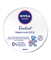Дитячий крем заспокійливий Nivea Baby Emolient S.O.S. 150 мл.