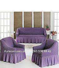 Защитный чехол на диван и кресла