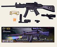 Автомат HY015C Автомат HY015C батар.,лазер.прицел, пульки
