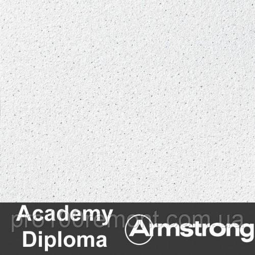 Плита Diploma Armstrong Microlook 600х600х14мм(пачка 15шт)