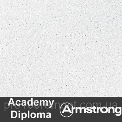 Плита Diploma Armstrong Microlook 600х600х14мм(пачка 15шт), фото 2