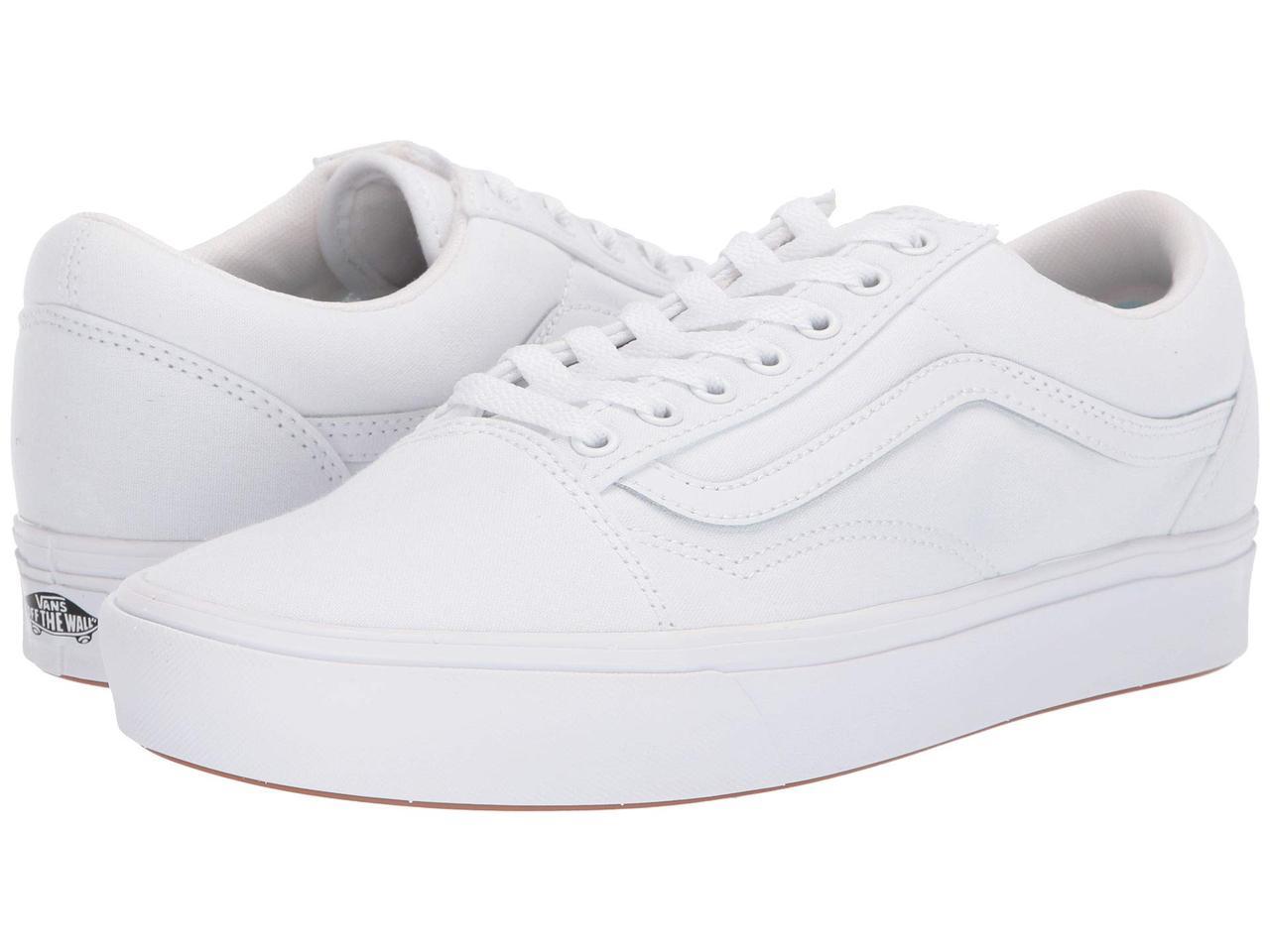 Кроссовки/Кеды (Оригинал) Vans Comfycush Old Skool (Classic) True White/True White