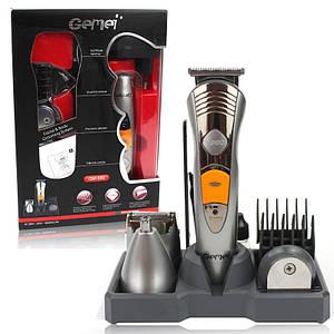 Набор для стрижки волос и бороды электробритва 7в1 Gemei GM-580 142154