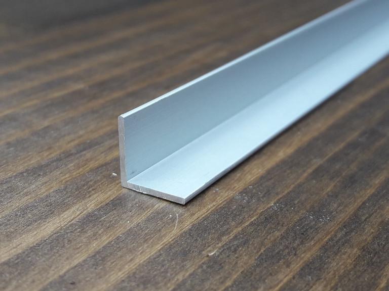 Уголок алюминий, анод 10х10х1