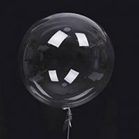 "Шар-сфера 3D Deco Bubble 24""(60см) ПРОЗРАЧНЫЙ - СТЕКЛО"