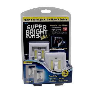 Универсальный светильник быстрого монтажа 2 шт Super Bright Switch 130483