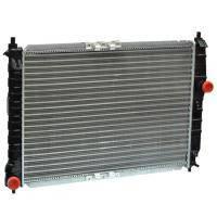Радіатор охолодження Chevrolet Aveo (з кондиціонером) AURORA