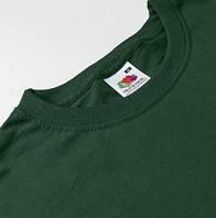 Темно-зеленые футболки Fruit of the Loom
