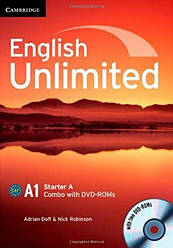 English Unlimited Starter A Combo with DVD-ROM