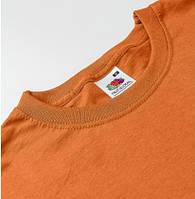 Оранжевые футболки под печать Fruit of the Loom