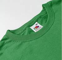 Футболки зеленые для печати Fruit of the Loom