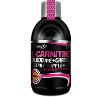 Жироспалювач BioTech USA L-Carnitine 70000 mg + Chrome Liquid 500 ml