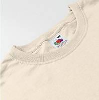 Мужские футболки кофейные Fruit of the Loom